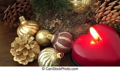 Christmas (New Year) decoration composition