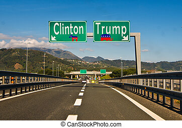 the moment of choice, Clinton ot Trump - the important...