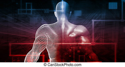Human Implant Concept Technology as a Illustration