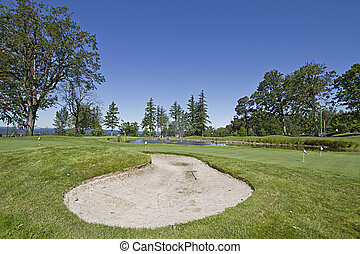 Golf Course Sand Trap 2