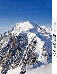 Mont Blanc, France, highest peak of Europe