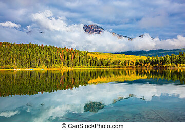 Patricia Lake in Jasper Park - Charming Patricia Lake...