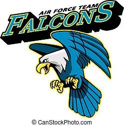 Falcons Air Force Team Mascot