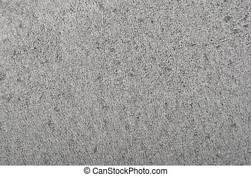 Textured polystyrene foam background - Close up of gray...