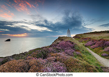 The Pepper Pot Daymark at Portreath - The Pepper Pot daymark...