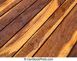 Background pattern nature detail of beautiful teak wood texture