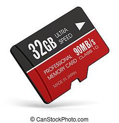 High speed 32GB MicroSD flash memory cards - Creative...