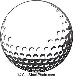 golfe, bola