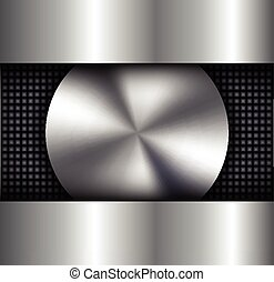 Background metallic silver