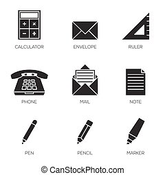 Office tools icons vol 2
