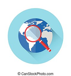 Magnifying Glass Global Search Icon