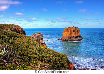 Ocean View - Scenic View along the Great Ocean Road