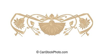 Ancient egyptian ornament - Vector ornament in ancient egypt...