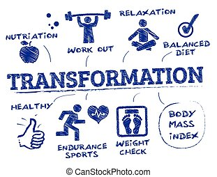 Body transformation Vector Clip Art Royalty Free. 180 Body ...