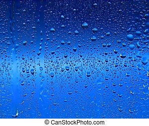 Waterdrops - Raindrops on window