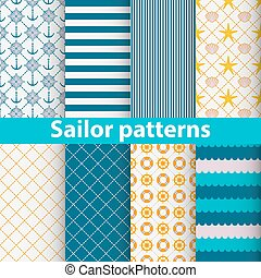 Sailor patterns set