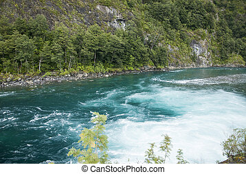 View of Vicente Perez Rosales National Park - Chile -...