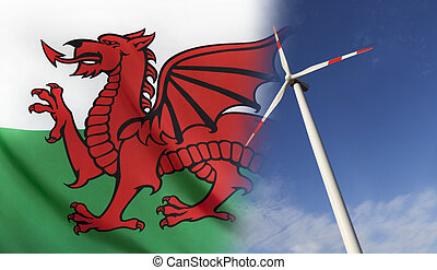 Concept Clean Energy in Wales - Concept clean energy with...
