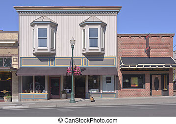 Store front businesses in Walla Walla WA. - Store front...