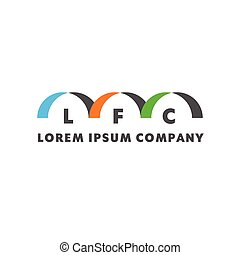 Vector logo for your lorem ipsum company Creative concept...