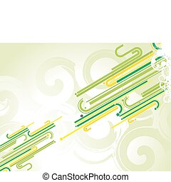 Fantastic abstract design with space of your text, vector...