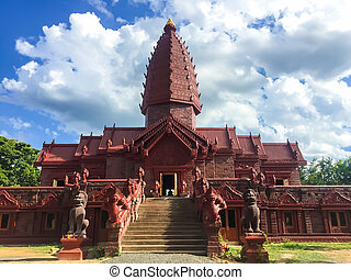 Khmer Castle in the temple of Thailand