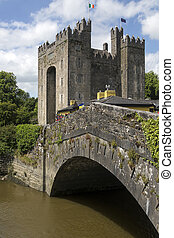 Bunratty Castle - County Clare - Republic of Ireland -...
