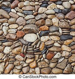 Sea stones pebble texture background