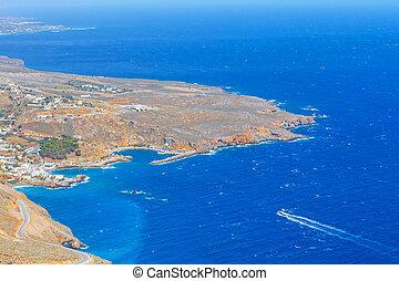 pueblo,  sfakion,  Crete,  Chora, grecia
