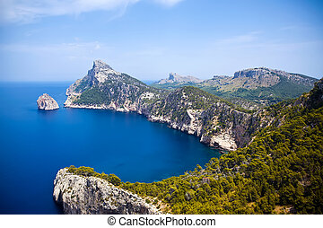 Cape Formentor in Mallorca island, Spain