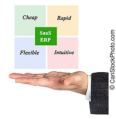 Benefits of ERP on SAAS