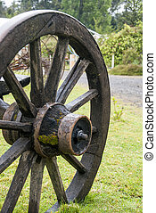 Vintage Wagon Wheel - Puerto Montt - Chile
