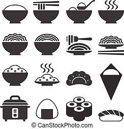 Vector Japanese cuisine