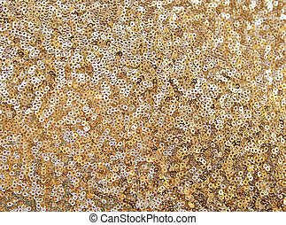 cloth embroidered with gold sequins, background