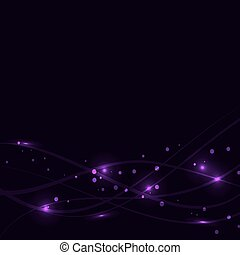 Vector Wave Abstract Background
