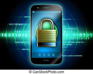 Secure smartphone
