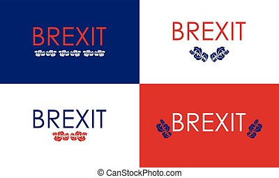 special floral brexit banners