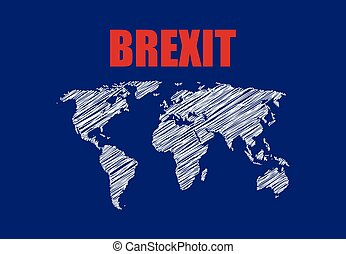 abstract brexit background