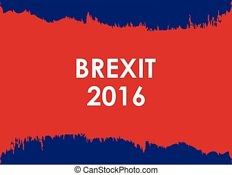abstract brexit 2016 banner