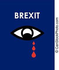abstract brexit 2016 background