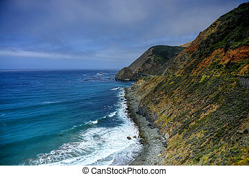 Big Sur California - Pacific coast highway Big Sir...