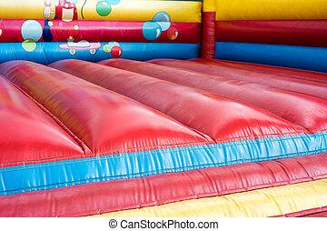 bouncy castle - colorful bouncy castle for children