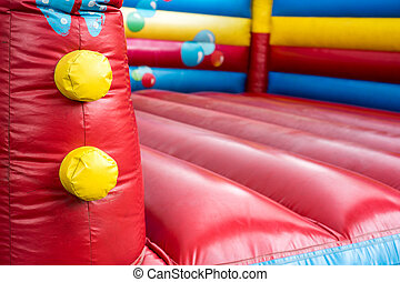 bouncy castle - colorful bouncy castle for children