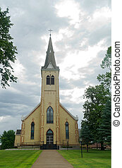 Landmark Church in Pierz Minnesota - landmark church in...