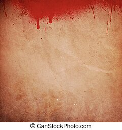 blood splattered grunge background
