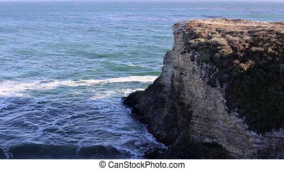 California Cliff and Ocean - Nature California cliff and...