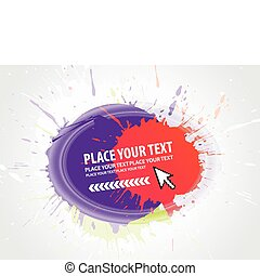 abstract grunge composition - abstract grunge vector...