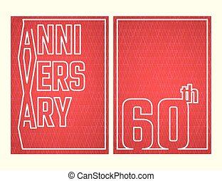 Anniversary outline set