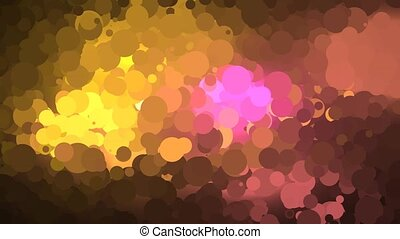 Retro Circle Background Animation - A motion graphic video...