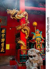 Chinese temple. Kuala Lumpur, Malaysia.